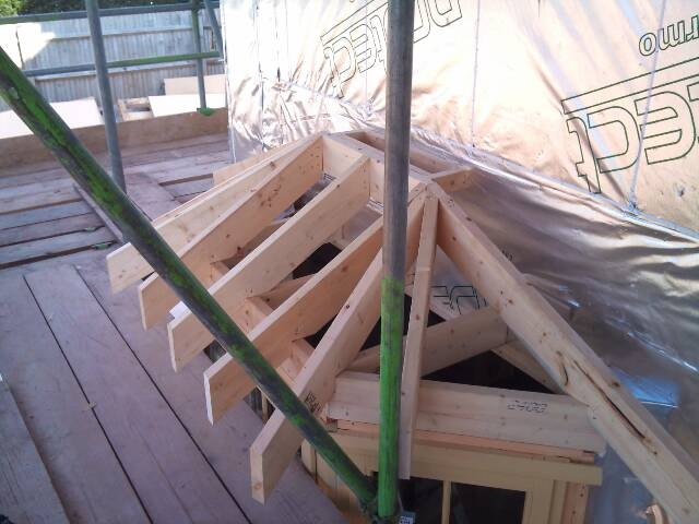 Bay Window Roof 3 Gtf Carpentrygtf Carpentry